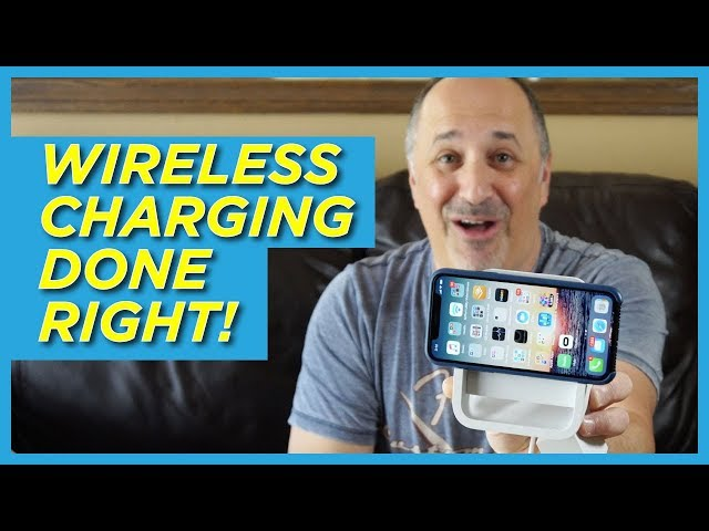 Logitech Powered Wireless Charging Stand Hands-on