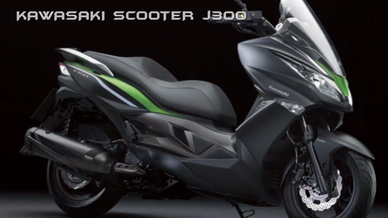 2017 Kawasaki J300 Excellent Scooter Expected To Get More Power