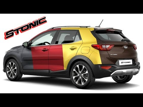 2018 kia stonic / body colors (single & two tone) - youtube