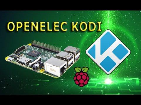 Универсальный RaspberryPi - Медиацентр OPENELEC KODI
