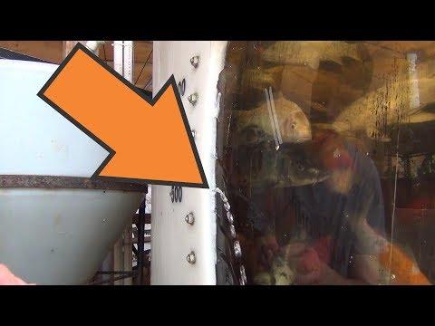 Tank Window Repair - Part 1