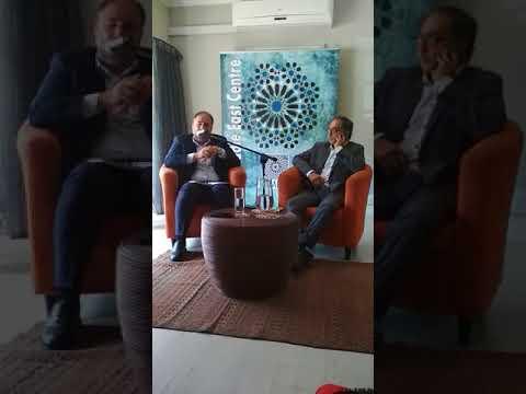 Former  Al Jazeera Director  General Wadah Khanfar speaks at Amec in Johannesburg