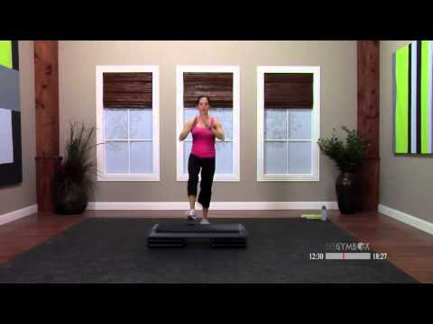 Step aerobics beginner workout with Dana  30 Minutes
