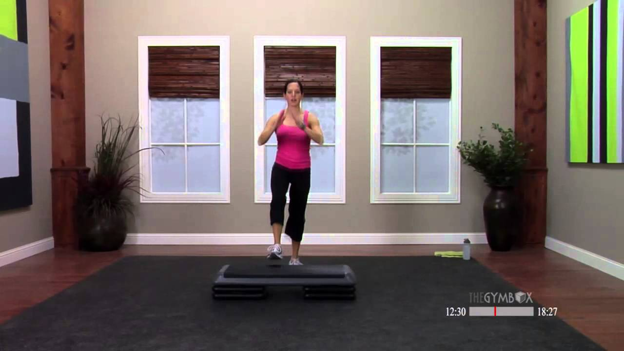 Step Aerobics Beginner Workout With Dana 30 Minutes Youtube