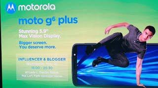 (Live) : เปิดตัว Moto G6 / Moto G6 Plus อย่างเป็นทางการ