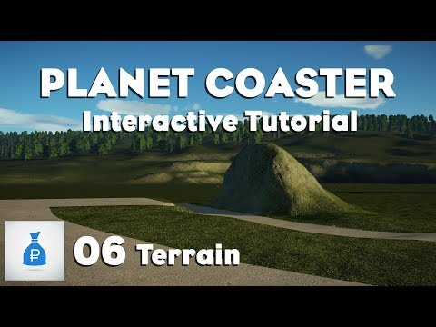 Planet Coaster: Interactive Tutorial Park [Ep 6] - Terrain and Path Interaction