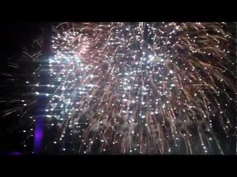 EDC LAS VEGAS 2012 - Dash Berlin - Till The Sky Falls Down + FIREWORKS!