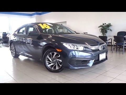 2016 Honda Civic Sedan Glenview, Des Plains, Highland Park, Elmhurst, Morton Grove, IL P7555
