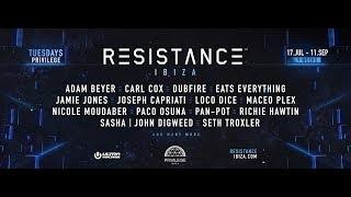 RESISTANCE IBIZA 2018 Headliner Announcement
