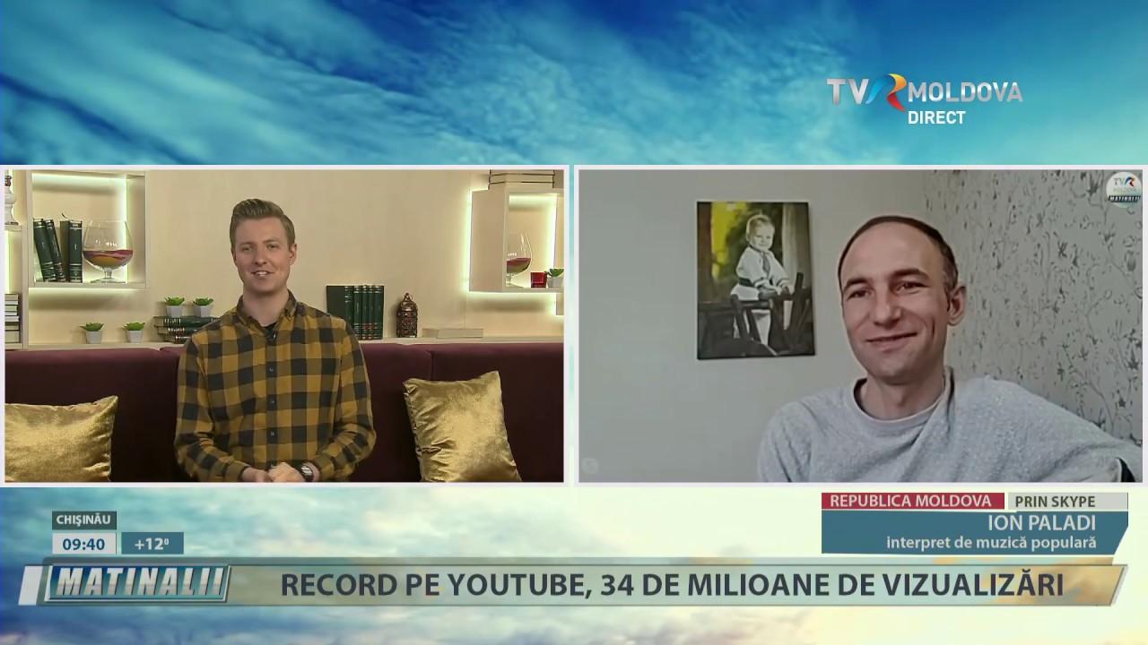 Ion Paladi in emsiune pe Skype pentru Tvr Moldova în timpul carantinei!
