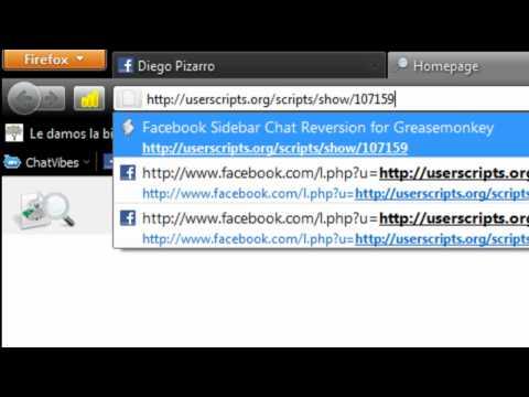 cambio como antigua facebook  chat  facebook nuevo - DIEGONJ65