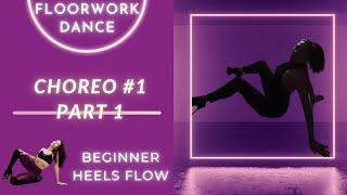 Beginner EXOTIC DANCE CHOREOGRAPHY | Online Class 1 – 1st PART | PoleFit