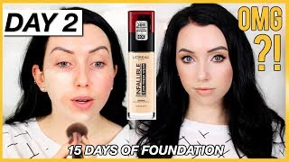 Download L'OREAL INFALLIBLE FRESH WEAR FOUNDATION! {First Impression Review & Demo!} Dry Skin Mp3 and Videos