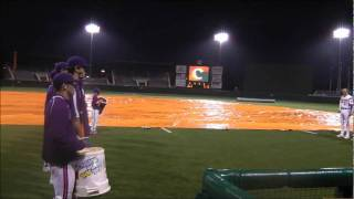 Clemson Baseball vs Davidson Rain Delay Civil War