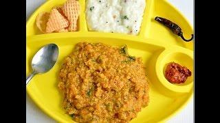 Sambar rice recipe - Sambar sadam in pressure cooker - Hotel style recipe