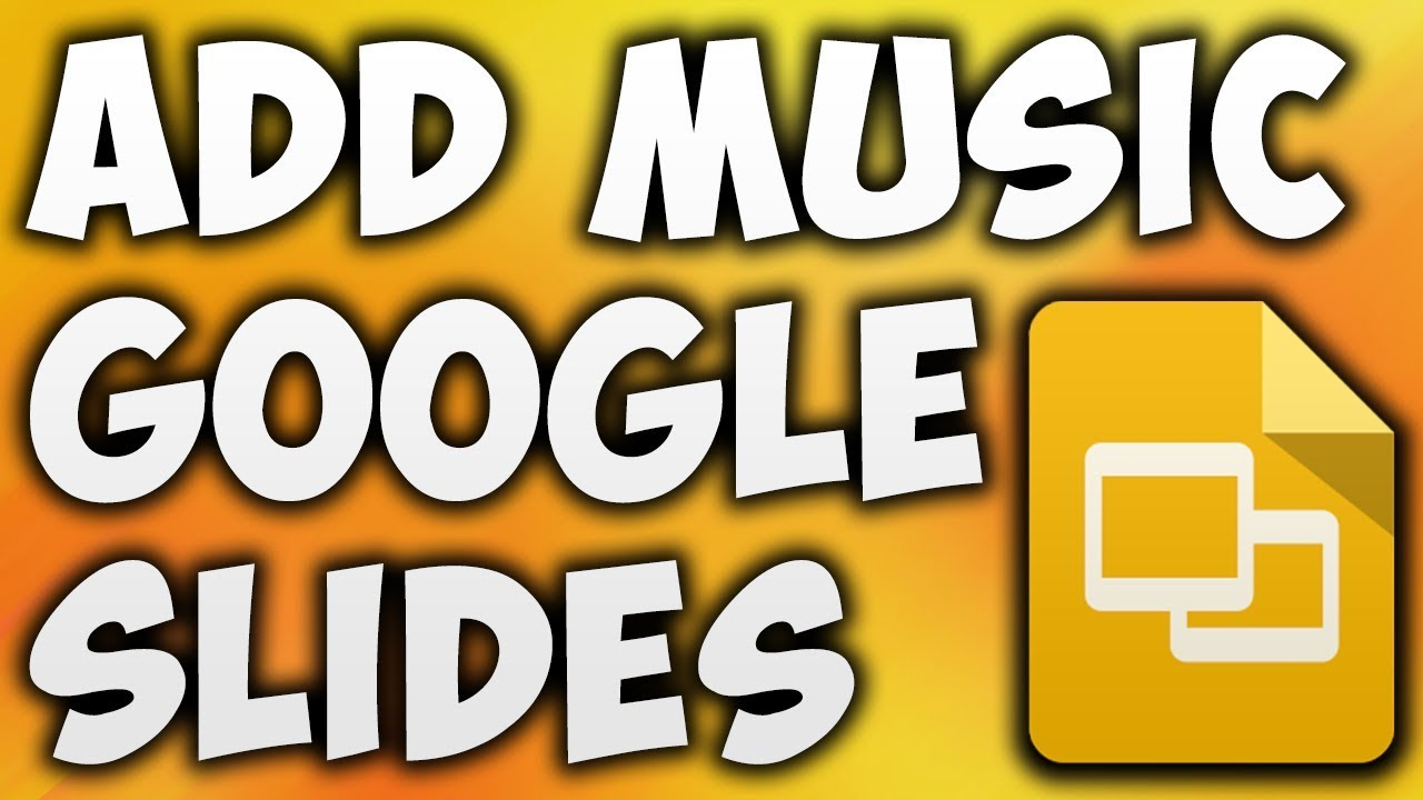how to add music to google slides presentation best way to add