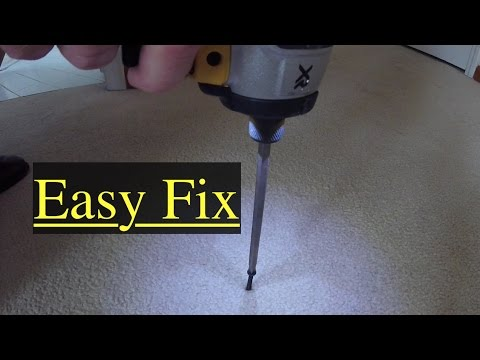How To Fix Squeaky Carpeted Floors Cheap And Easy Youtube
