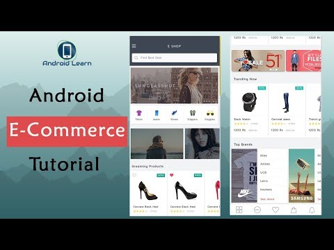How To Make E-Commerce App In Android Studio