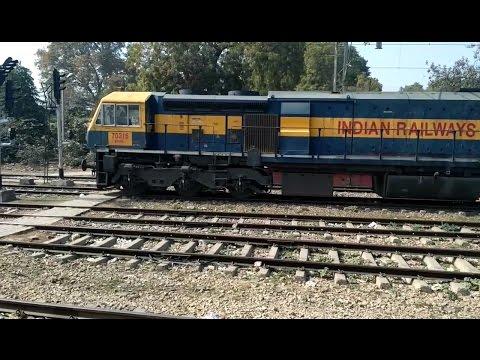 prayag to allahabad  in late running sarju express Indian railways