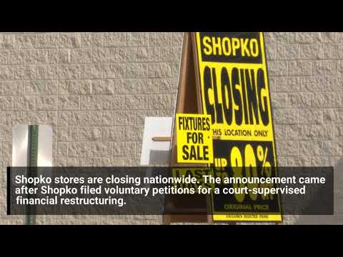 Shopko In Great Falls Closes In Five Days