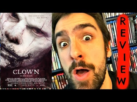 CLOWN Horror Movie Review + Evil Clown Books