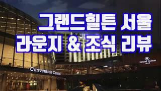 그랜드힐튼 서울 호텔 라운지 &…