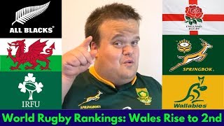 World Rugby Rankings: Wales climb to 2nd after Grand Slam!