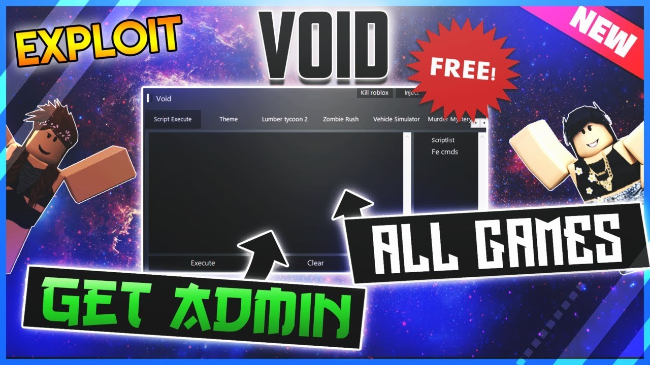 Overpowered Roblox Exploit All Games Get Admin