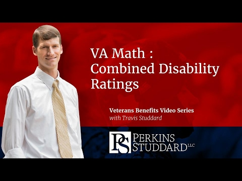 VA Math : Combined Disability Ratings