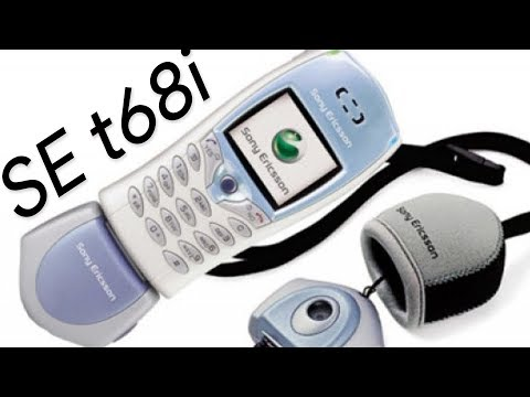 Phones That Were Ahead Of Their Time: Sony Ericsson T68i