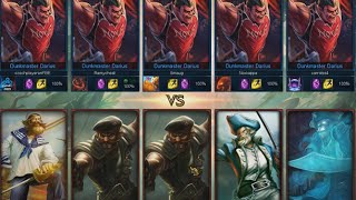 League of Legends * One for all mode * 5 Darius VS 5 Gangplank 2015