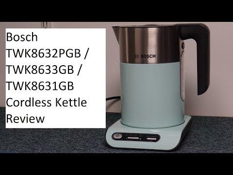 Bosch TWK8632PGB Cordless Kettle Review