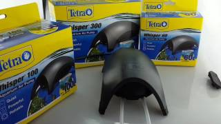 Tetra Whisper Air Pump Range 60, 100 and 300