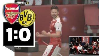 Arsenal gewinnt Finale gegen BVB - BILD FIFA 17 Turnier