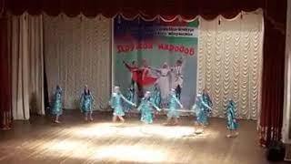 Адыгейский девичий перепляс хореографический ансамбль гумиста