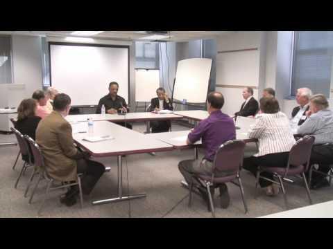 Jesse Jackson visits Rockford Register Star Editorial Board part 3 of 7