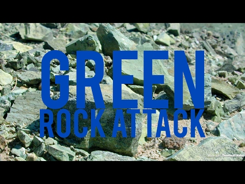 Attack of the green rocks | vlog 1