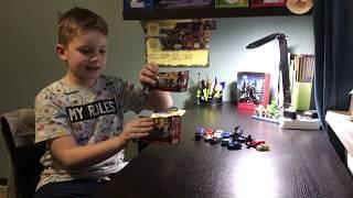 Распаовка игрушек + обзор коллекции трансформеров