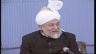 Darsul Qur'an 169 - 6th February 1996 (Surah An-Nisaa 8-9)