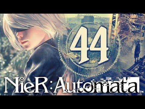 A BIZZARE MEMORY STORAGE AREA   A Revealing Narrative   Nier: Automata #44