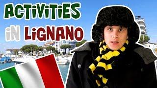 Отдых в Италии. Море в Lignano