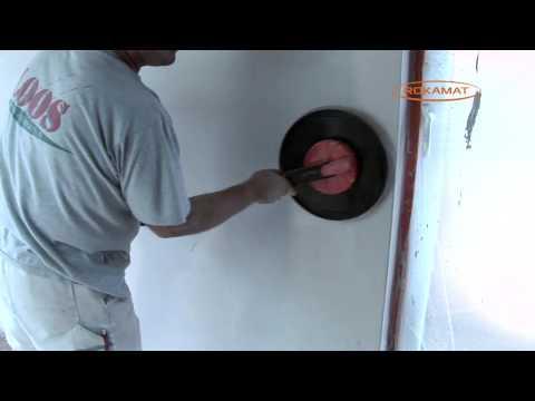 ROKAMAT  CORDLESS SPONGE FLOAT  RENDERING FINISHING MACHINE