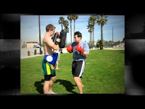 OC Muay Thai Beach training in Seal Beach California