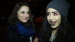 «Կույսեր», «մեռած հարսնացուներ», «լրագրող ուտողներ»  Երևանում նշվում է Հելոուինը