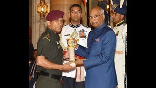 Padma Awards 2018 Ceremony at Rashtrapati Bhavan, 2nd April 2018
