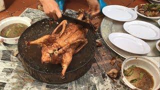 Hướng Dẫn Cách Chặt Thịt Ngan Quay, 1 Con (3-4kg) Ra 3 đĩa Bầu Dục