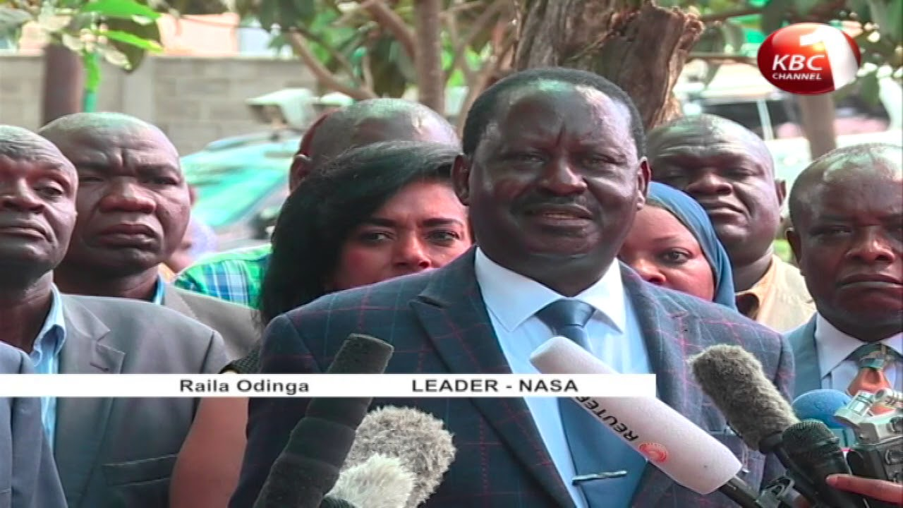 Pressure mounting on Raila Odinga to shelve his swearing-in intentions slated for Jamhuri day