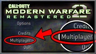 Modern Warfare 2 Remastered Multiplayer Leaked Crossplay With PS3/Xbox 360! COD MW2 Remastered Leak