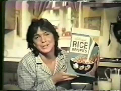 1970 Rice Krispies Commercial (featuring David Cassidy)