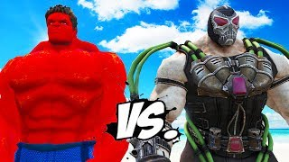 RED HULK vs BANE - Superheroes War